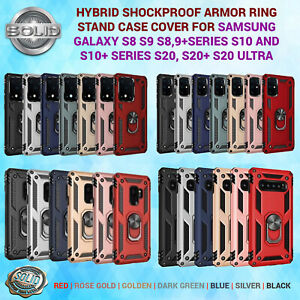 Hybrid Shockproof Armor Phone Case Cover For Samsung Galaxy S8 S9 S10 S20 RANGE