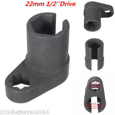 Universal 22mm 1/2'' Oxygen Sensor Socket Wrench Offset Removal Flare Nut Socket