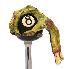 Zombie 8 ball Shift Knob w/ Adapters fits lokar b&m gennie hot rat street rod