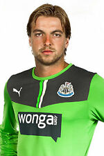Football Photo>TIM KRUL Newcastle United 2013-14