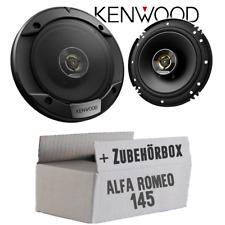 Lautsprecher für Alfa Romeo 145 Boxen Kenwood Heck Auto Einbauzubehör Einbauset