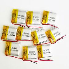 10 pcs 180mAh 3.7V LiPo Polymer recharge Battery For Mp3 PSP bluetooth 602020