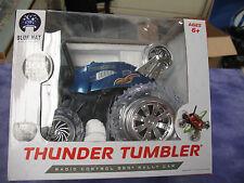 Thunder Tumbler (Blue)-radio control 360* rally car 27 MHz