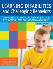Learning Disabilities and Challenging Behaviors: Using the Building Blocks