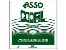 MATASSA FILO NYLON ASSO COOFIL Ø 1,00 mm BIANCO PER PALAMITO CONZO