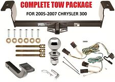 2005-2007 CHRYSLER 300 COMPLETE TRAILER HITCH PACKAGE ~ ALL MODELS EXCEPT 300C