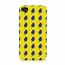 DYEFOR YELLOW BLUE ICE CREAM CASE COVER FOR APPLE IPHONE MOBILE PHONES