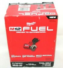 "Milwaukee 2522-20 M12 FUEL Cordless Brushless 3"" Compact Cut Off Tool Brand NEW"