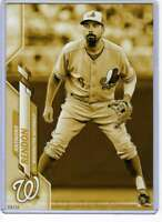 Anthony Rendon 2020 Topps Short Print Variations 5x7 Gold #14 /10 Nationals