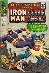 Tales of Suspense #76 Marvel 1966  Lee / Colan, Romita, VF+
