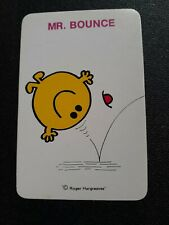 playing cards swap ,One card, Blank Back,  Mr Bounce.