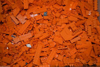 1lb of Assorted ORANGE Lego Bricks & Parts & Pieces Sold in Bulk by the Pound