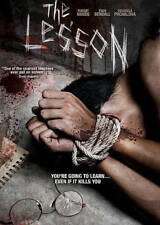 The Lesson (DVD, 2015, WS) Evan Bendall, Robert Hands  NEW