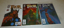 Thor Vikings #1, 3, 4 Marvel Max 2003 Vf/Nm+ Bagged & Boarded Comic Book Lot