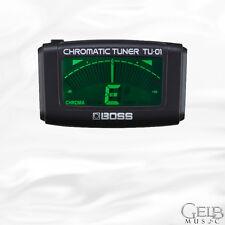BOSS TU-01 Clip-On Chromatic Tuner - TU-01