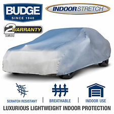 Indoor Stretch Fits Car Cover Fits Ford Mustang 1991, Gray