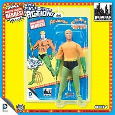 Super Powers Retro DC MEGO Aquaman With Fist Fighting Action Series 1 NEW