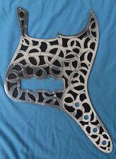 Metal Pickguard control plate fits Fender Jazz Bass scratchplate Squier handmade