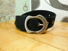 Harley Davidson Black Suede Belt Size 27