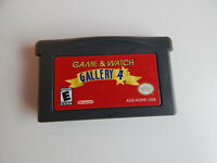 Game & Watch Gallery 4 Game Cartridge! Nintendo GameBoy Game Boy Advance GBA