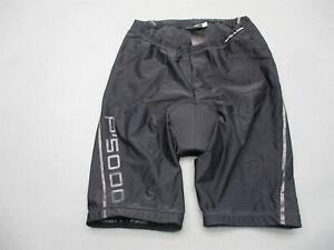 Adidas Porsche Design Size 34 Men Black Athletic Padded Bike Cycling Shorts T539
