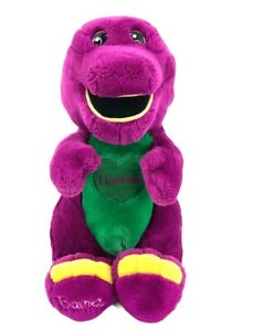 "Vintage Barney The Purple Dinosaur Singing Plush I LOVE YOU Song Lyons 15"" WORKS"
