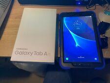 Samsung Galaxy Tab A T585 32GB, Wi-Fi + 4G, Unlocked, 10.1-inch Tablet - Black