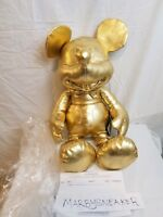 Disney Store Mickey Mouse LARGE Plush Gold Collection 90th Anniversary SOLD OUT