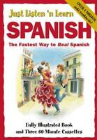 Just Listen 'N Learn Spanish - Paperback By Hill, Brian - GOOD