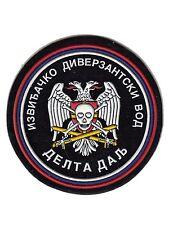 BALCAN WAR ERA- SERBSKA KRAJINA- RECONNAISSANCE AND SABOTAGE PLATTON DELTA PATCH