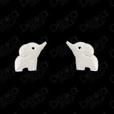 925 Sterling Silver Baby Elephant Lucky Stud Earrings Girls Children Women Studs