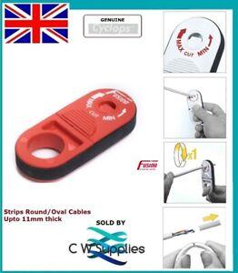 CYCLOPS Rotary Action Jacket Stripper CAT5e Cat6a Cat7 Fibre Optic Cable 11mm di