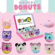 KAWAII Puni Maru Animal Donut Squishy Jumbo Size Cute Scented Kid Toy Random