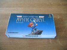 SNES Super Famicom game - Mystic Quest Final Fantasy USA (boxed NTSC Japanese)