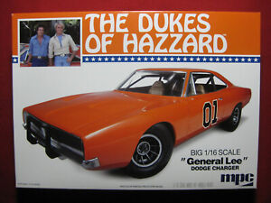 1:16 BIG Scale Dukes of Hazzard General Lee 1969 Dodge Charger MPC Model Kit