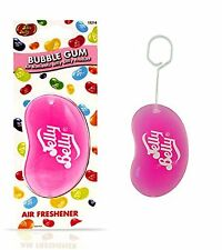 Jelly Belly Bean 3D Car Home Office Air Freshener Bubble Gum Fragrance Smell NEW