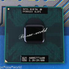 100% OK SLGF5 Intel Core 2 Duo T6600 2.2 GHz Dual-Core Laptop Processor CPU