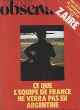 Le Nouvel Observateur   N°707   29 Mai Au 4 Juin 1978: Ce que l'equipe de France