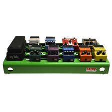 Gator Cases Large Guitar Effects Stompbox Pedal Board Green Finish + Carry Bag