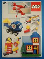 Vintage Booklet LEGO #226 Instructions Ideas Book 1981