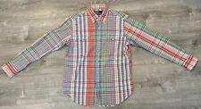Mens Polo Ralph Lauren Classic Western L/S Pearl Snap Button Front Shirt Medium