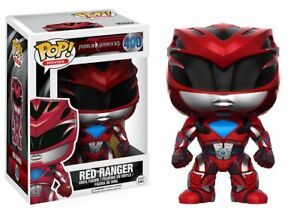 The Power Rangers Red Ranger Pop! Movies Vinyl Figure FUNKO NIB 400