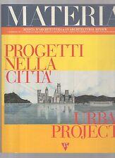 materia rivista di architettura numero 15 -  1° quadrimestre 1994