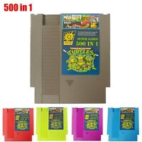 Super Games 500 IN 1 Best Games Cartridge For NS PAL & NTSC Consoles