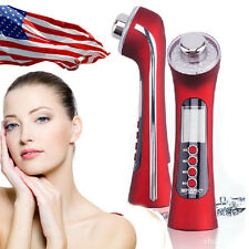Us 5 in1 Ultrasound Photon Facial Care Devcie Skin Rejuvenation Adapter Charging