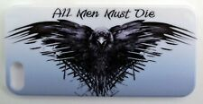 Game of Thrones Iphone5 + 1 FREE SCREEN PROTECTOR(BACK AND FRONT) Crow