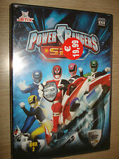 BOX COFANETTO 4 DVD POWER RANGERS S.P.D. SPD GLI ULTIMI 18 EPISODI