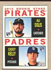 Ali Solis Casey Kelly 388 2013 Heritage Pirates Rookie RC