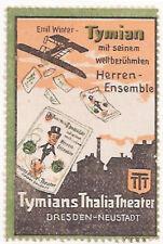 POSTER STAMP GERMAN TYMIANS THALIA THEATER LEAFLETS