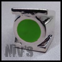 DC Comics Universe Green Lantern Official Movie Metal Silver Power Ring Size 11